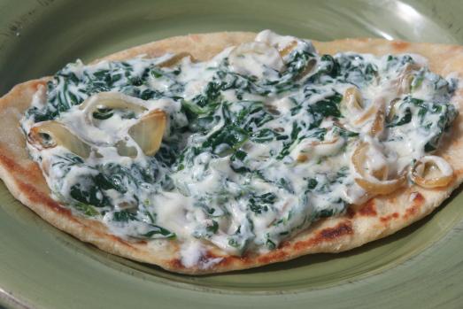 Sabse Borani (Spinach & Yogurt Dip)